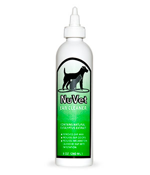 nuvet ear cleaner cats dogs supplements products